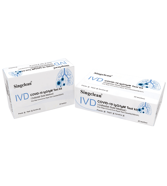 Test rápido anticuerpos (Singclean Medical)