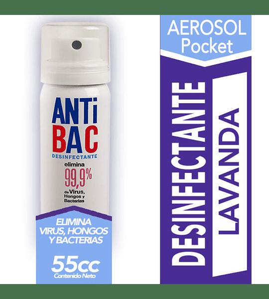 Desinfectante Aerosol Anti Bac 55 cc Tanax