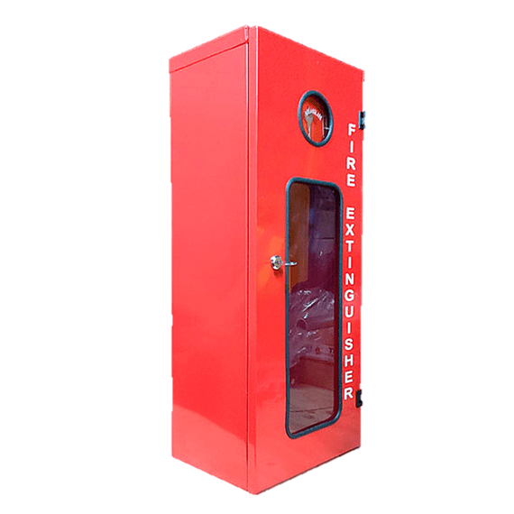 Gabinete Metálico con llave y visor inspección extintor 6K