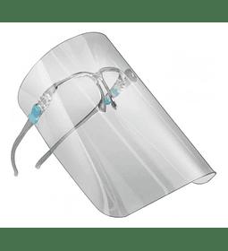 Escudo ergonómico protector facial