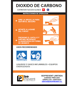 Recarga Extintor 5 Kilos CO2 (Dióxido de Carbono)