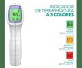 Termómetro digital infrarrojo original Noan