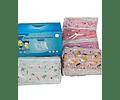 Mascarillas 3 pliegues niño(a) certificadas (50 Unidades)