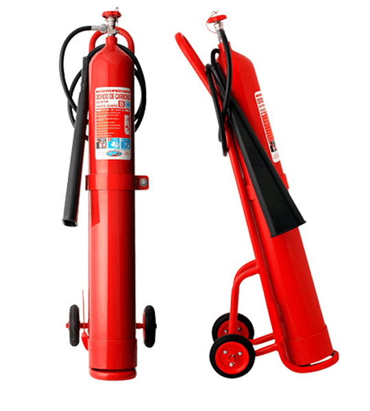 Carro Extintor CO2 10 Kilos DS44