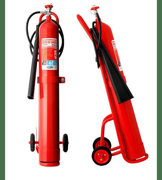 Carro Extintor CO2 10 Kilos DS44, C10