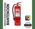 Mantención Extintor 6 Kilos PQS, MP6