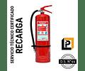 Recarga Extintor 10 Kilos PQS 75%