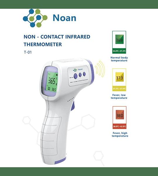 Termometro digital infrarrojo