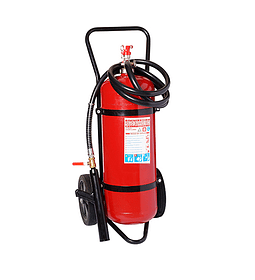 Carro Extintor PQS (Polvo Químico Seco) 90% 50 Kilos