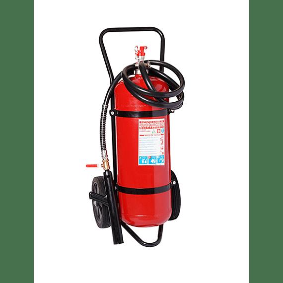 Carro Extintor Polvo Químico Seco 90% (ABC) 50 Kilos