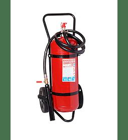Carro Extintor PQS (Polvo Químico Seco) 90% 100 Kilos