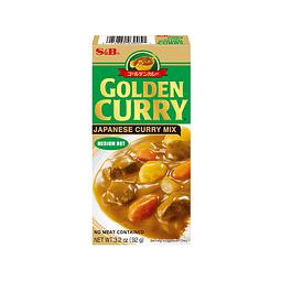 GOLDEN CURRY MEDIO PICANTE 92GR