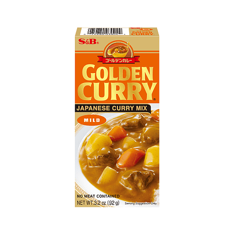 GOLDEN CURRY SUAVE 92GR