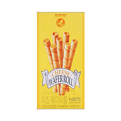 CHEESE WAFER ROLL115GR