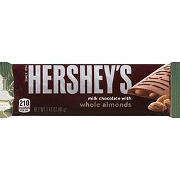 CHOCOLATE CON ALMENDRAS ENTERAS 41GR