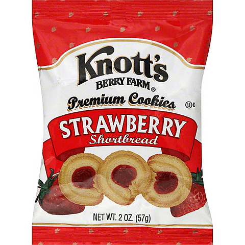 STRAWBERRY COOKIES 57GR