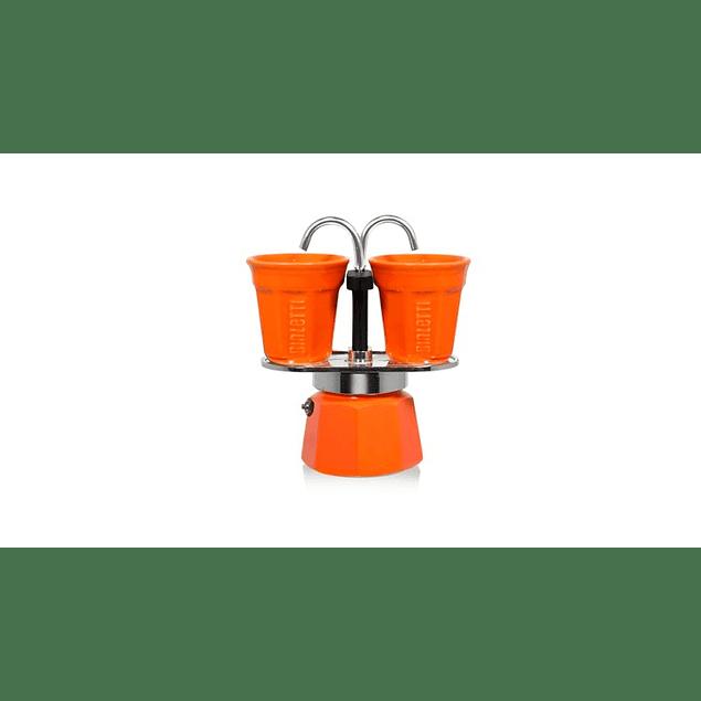 Set Cafetera Mini Express Naranja
