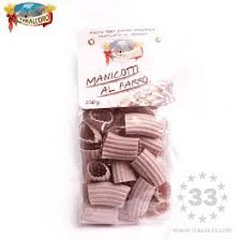 Pasta Manicotti al Farro