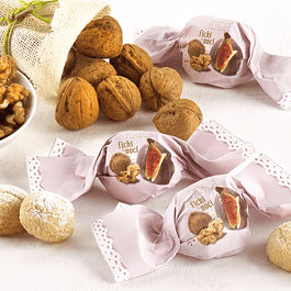 Galletas Ameretti Soffici Nueces e Higos sin Gluten 900 grs