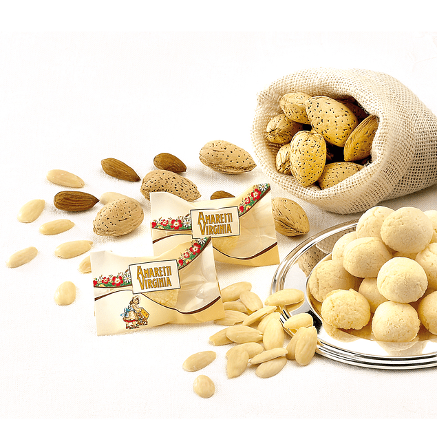 Soft mini-Amaretti sin Gluten in bulk pack 1 Kg