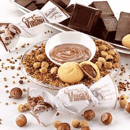 Amaretti relleno de Chocolate y Avellana 450 grs