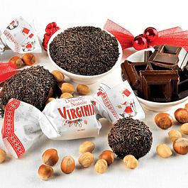 Amaretti bañado en chocolate 450 grs