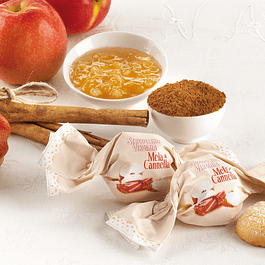 Galletas Amaretti de canela relleno con manzana 450 grs