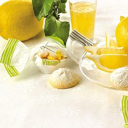 Galletas Amaretti de limon relleno de limon 450 grs