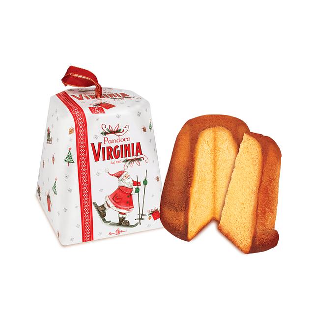 Mini Pandoro Veronese en caja de Santa Claus  80 grs