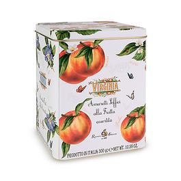 Lata con mix de amaretti soffici alla fruta gluten free 300 grs