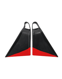 Aletas Boost'n Houston Punta Recta Black-Red