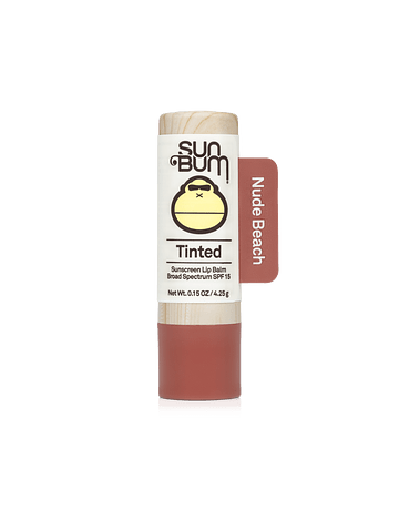 TINTED LIP BALM NUDE BEACH