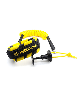 LEASH HUBBOARDS 9MM YELLOW