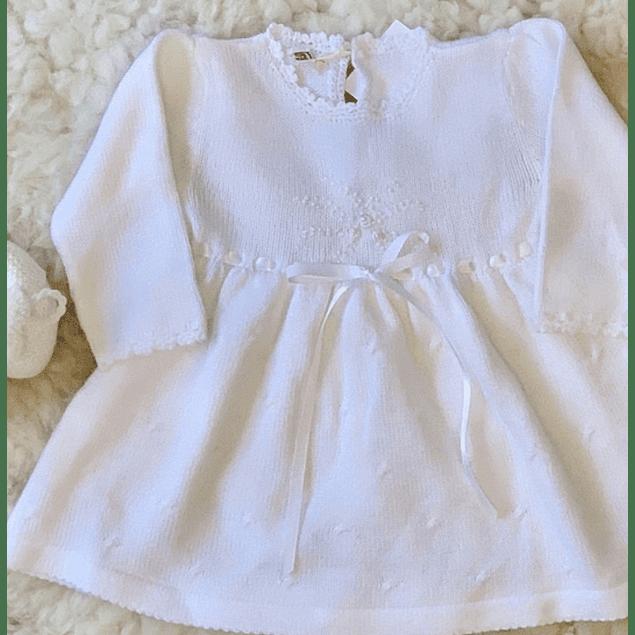 Vestido Augusta sin cuello