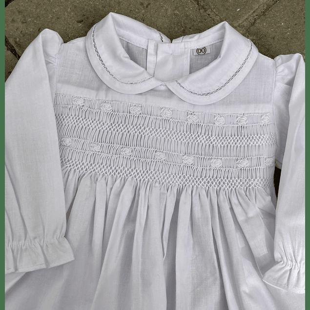 Vestido Emilia Bautizo Manga Larga