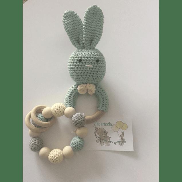 Set Mordedor conejo y pulsera