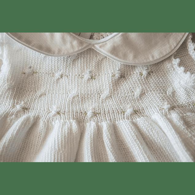 Vestido Blanca sin Mangas