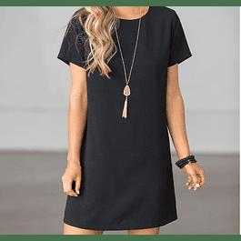Vestido de moda manga corta