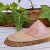 Pirámide Cuarzo Rosa