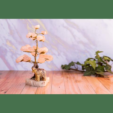 Árbol de Cuarzo Rosa