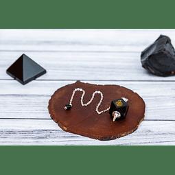Péndulo Chokurei Obsidiana