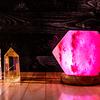 Lámpara de Sal Himalaya Hexagonal