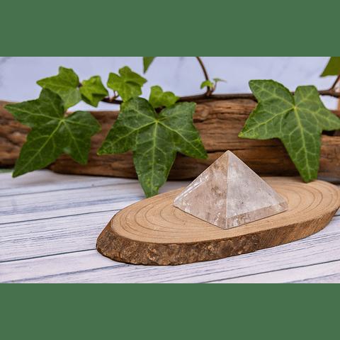 Pirámide de Cuarzo Cristal