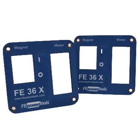 Repuesto Tapa Panel Taladro Mag. Steelmax Pro- 35-36