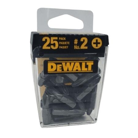 "25 PTAS PHILL#2 LONG 1"" DEWAL (DW2002B25)"