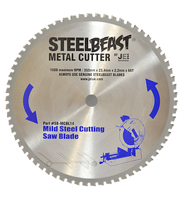 "DISCO DE METAL TCT 14 "" 355MM (MCBL14)"