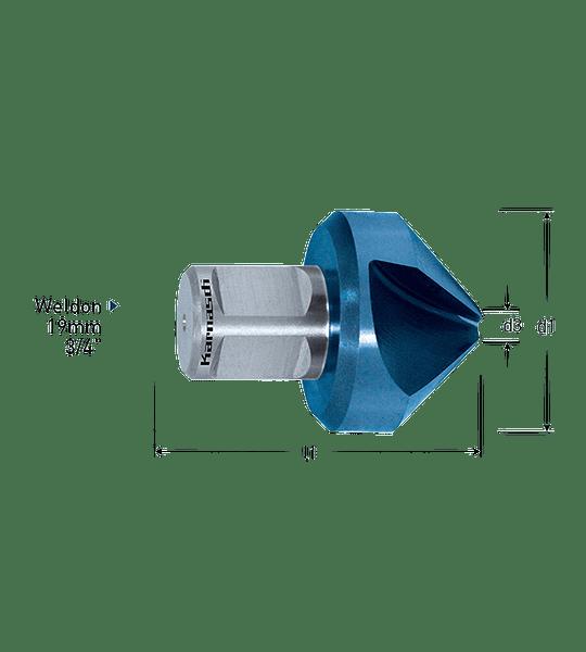 Avellanador 40mm Blu-Tec Karnasch 20.1195.040