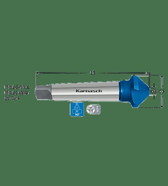Avellanador Cm4-80mm Blu-Tec Karnasch
