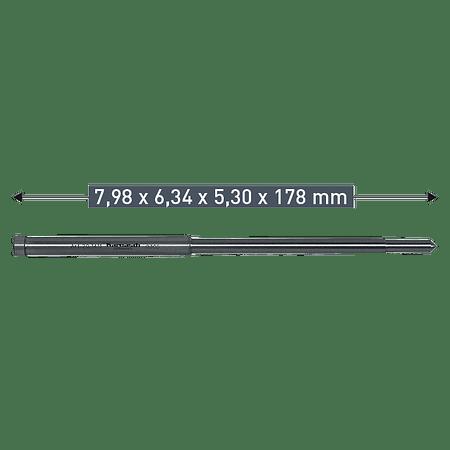 Guia De Centro Karnasch TCT 7.98 X 6.34 x 5.30 x 178mm (201411)