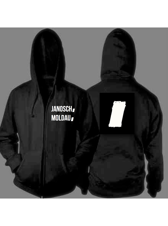 jm stripe black hoody